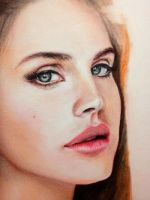 Lana Del Rey - WIP by CueQQ