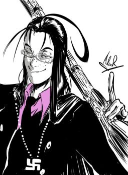 Rip from Hellsing by Aless78