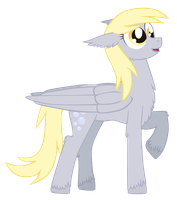 Derpy Hooves by ForeshadowART
