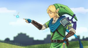 Link Finds Navii by XanderComicsInc