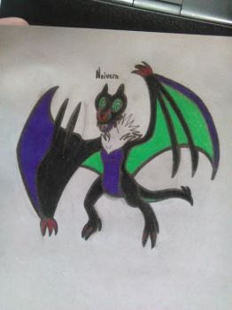 Personnal Pokemon Reference - Noivern by Soniclifetime