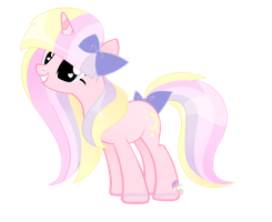 Sugar Moon new mane style?  tell me what you think by SugarMoonPonyArtist