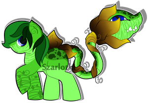 Custom Plant Pony For LightFury by Szarlotki