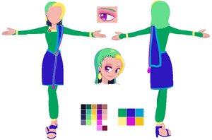 Design contest Toothiana entry by Cat-Of-Energy