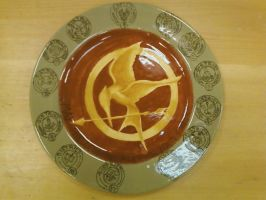 Hunger Games Plate p.2 by RaikageAlex
