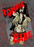 Zombie Babe by WatchTehTail