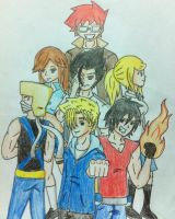 7 out of 12 Heroes by Honio