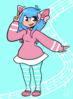 Pastel Girl by DuckyDeathly