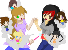 Group Collab with Telunaluna by Rose9227614