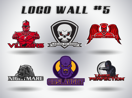 Logo Wall Numero Five by Alexandar-Obert