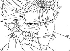 Grimmjow Drawing by dagrin666