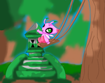 Celebi Shrine by auroradragon93