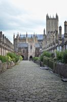 Choristers Row 2  Wells. England by jennystokes