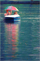 Paddleboat by whensummerends
