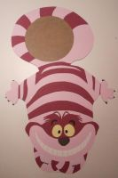 cheshire cat clock wip by Macca4ever