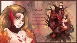 Canada Day! League of Legends by berrycoat