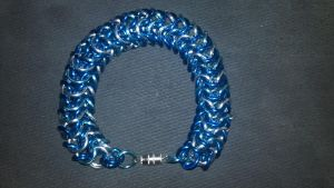 MLP Themed Trixie Chainmail Bracelet-2 by TheGiantsnoll