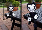 Handmade Bendy Plushie - Bendy and the Ink Machine by HipsterOwlet