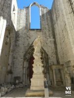 Ruins of the Carmo Convent, Lisbon #5 by ViniVix