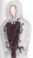 The Slender Man by darkvamp001