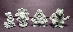 Amusing Mini Paranormals AMP mini figures Batch 1 by Meadowknight