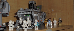 lego starwars display 3 by TMNTFAN85