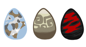 mystery Egg adopts - open - by XxkirstrexxX
