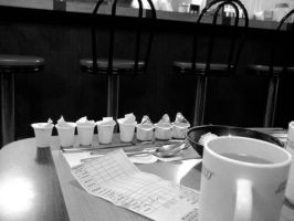 Coffee at the Waffle House by djPhotos