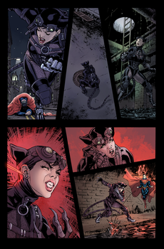 Hires Catwoman Injustice Gods Among Us Color by Dreamer-T