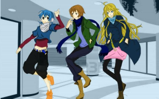 My OCs Fashionable by SasuNaruRocks10001