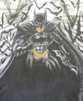 BATMAN airbrush T by WEDMER