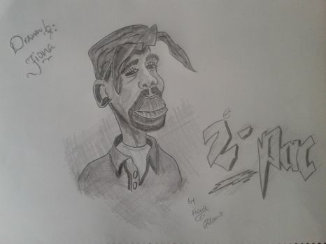 Tupac by Fiona-theartist