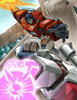 Optimus vs Megatron by REX-203 by Robot-Japan