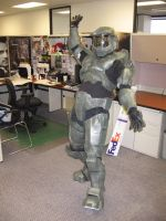 Halo Master Chief Costume by MrOreo123