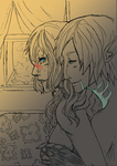 DAII_FENHAWKE_I'm_yours_ by SoulOfPersephone