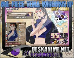 Nico Robin Theme Windows XP by Danrockster