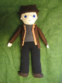 Linkara Plushie by The-Paper-Lady-42