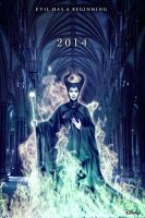 MALEFICENT TEASER POSTER by Umbridge1986