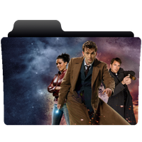 Folder icon Doctor Who series 3 (Tennant) by NonStopSarah