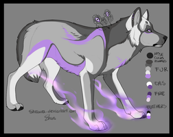 Wolf Adopt (Semi-Natural design) -CLOSED by x-aki