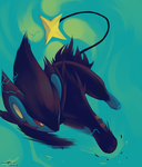 Day4 [ELECTRIC] Luxray by Rock-Bomber