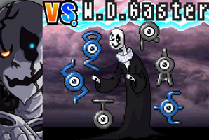 Mystery Man W. D. Gaster would like to battle! by labouka