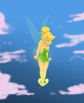 Disney Tinkerbell by theblindalley