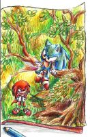 collab with sonicbornagain by sonicandsora25
