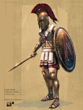 Hoplite Concept by Dstolpmann