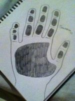 My Hand Print :3 by Draconian12