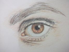 Mikey Way's Eye by Claire-Lumsden