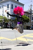 Haight Ashbury Leap by RavenLeFaye
