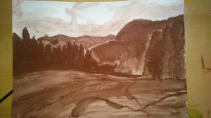 Brown Landscape by pproky