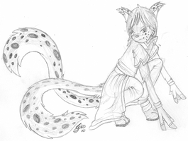 Lynx Twintail by Hawkein